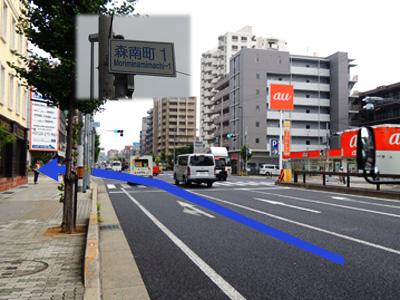 神戸市東灘区甲南山手にある歯科・歯医者の福山デンタルクリニックの経路図
