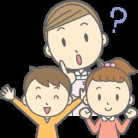 福山デンタルクリニックの医師が子供の歯みがきについて説明している記事のイラスト