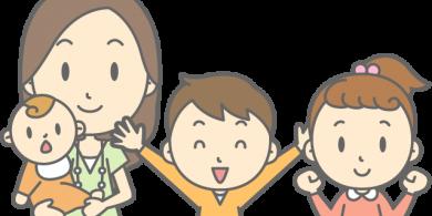 お子さまの歯みがきについての説明記事用の子供イラスト