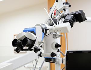 神戸市東灘区甲南山手にある歯科・歯医者の福山デンタルクリニックの顕微鏡治療器具