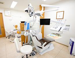 神戸市東灘区甲南山手にある歯科・歯医者の福山デンタルクリニックの診療台の写真